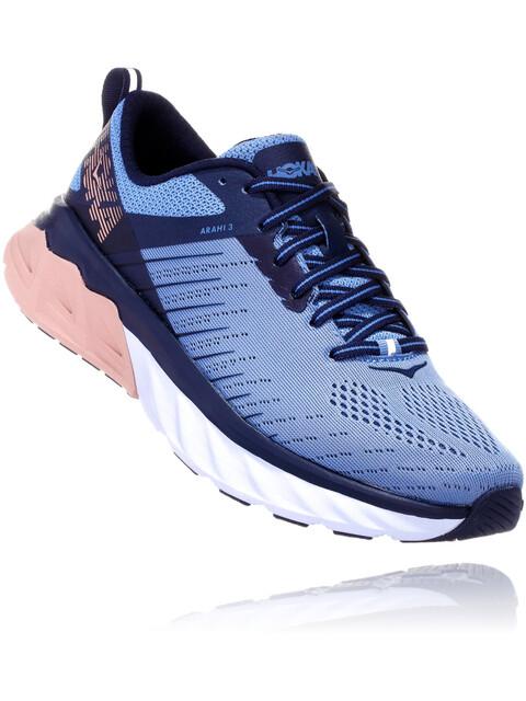 Hoka One One Arahi 3 - Zapatillas running Mujer - azul